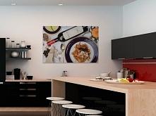 Wytworna kolacja - nowoczesny obraz na płótnie