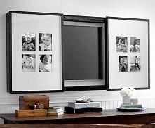 Jak ukryć telewizor we wnętrzu? Telewizor za obrazem? Zobacz pozostałe inspir...