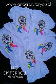 Koszulki malowane ręcznie w...