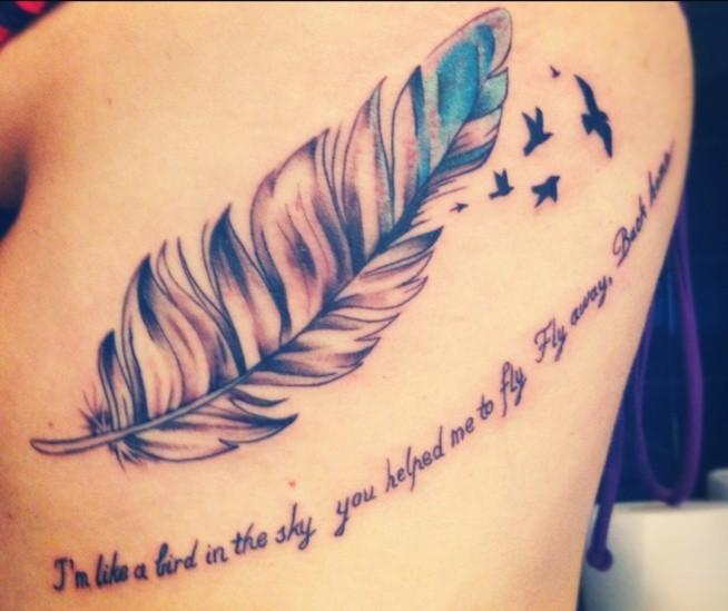 I'm like a bird in the sky..