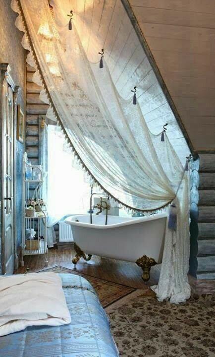 piękna wanna żeby niepowiedzeć łazienka