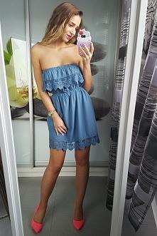 Ażurowa sukienka boho ideal...