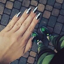 Chromowane paznokcie MetalManix ♡ Mam obsesję!