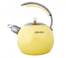 Nieco futurystyczny czajnik w ślicznym, żółtym kolorze. Nam się bardzo podoba!