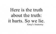 Prawda o prawdzie jest taka… że rani. Więc kłamiemy.
