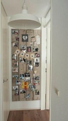 pomysl na zagospodarowanie pustej ściany