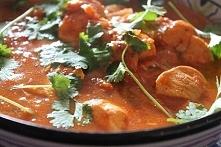 kurczak tikka masala + pasta curry