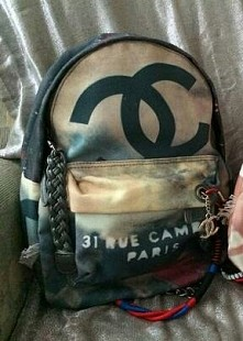 FOR SALE ;) Plecak Boy Sary Mannei graffiti. Chanel :)