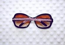 jak ozdobić takie okulary ? instrukcje  znajdziecie na blogu wazkowa.blogspot.com   Zapraszam :)