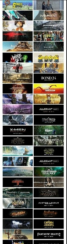 Propozycje filmów wchodzących do kin