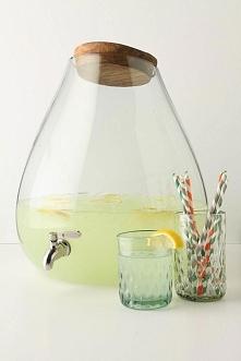 Stylowy pojemnik na lemoniadę