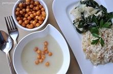 Biały obiad - risotto+kalar...
