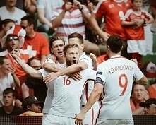 Polska - Szwajcaria   1 : 1 (5 : 4 karne)  I jesteśmy w ćwierćfinałach! Brawo!