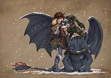 Hiccstrid (and Toothless XD)