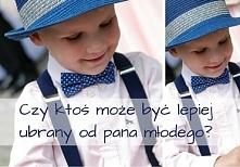 Czy ktoś może być lepiej ubrany od pana młodego? :) Zobacz najnowszy wpis na blogu Style To Go