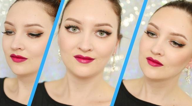 Zapraszam na najnowszy makijażowy tutorial. :) Makijaż jest idealny na wieczór, mam nadzieje, że spodoba się wam.