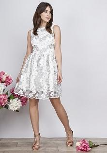 sukienka w kwiatki krakowia...