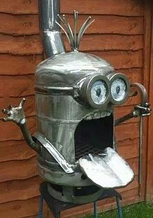 Minionkowy grill :-)