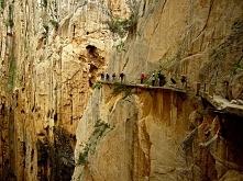 Caminito del Rey (Málaga, Spain)  Najciekawsze trasy świata