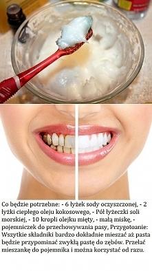 pasta wybielająca do zębów DIY