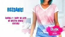 ROZDANIE NA YOUTUBE Butik I like! Ombre t-shirty do zgarnięcia!