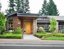 Zewnętrze domu amerykańskiego może wyglądać również w taki sposób - zobacz i ...
