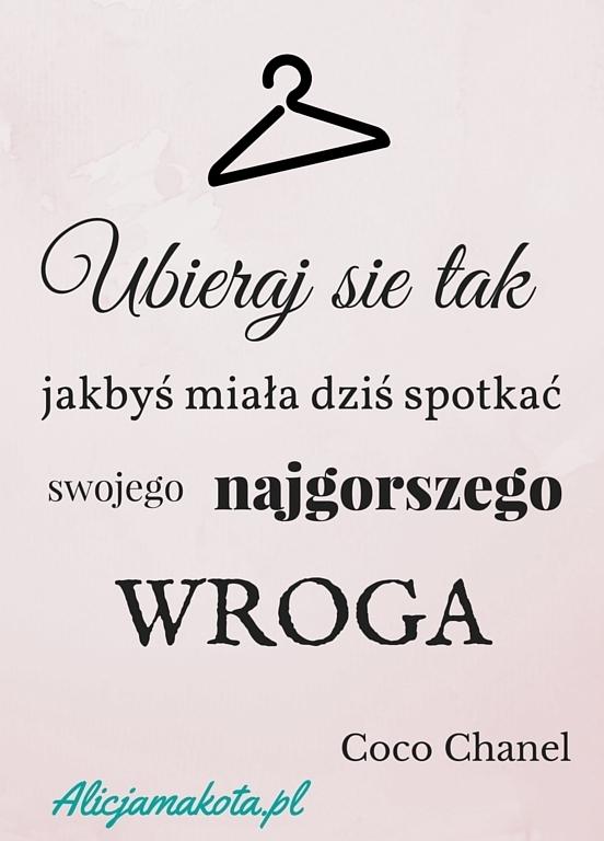 Cytat inspirujący. ❤ AlicjaMaKota.pl ❤
