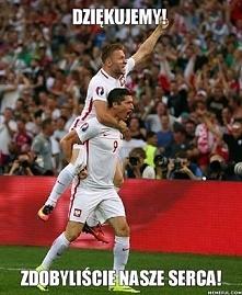 Niesamowicie dumna z Polakow! Kadro- bylas swietna!