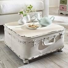 Kuferkowy stolik