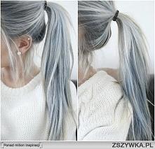 Szare włosy :)