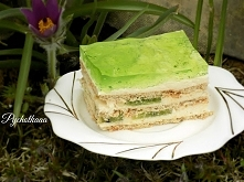 ciasto kiwi bez pieczenia na herbatnikach
