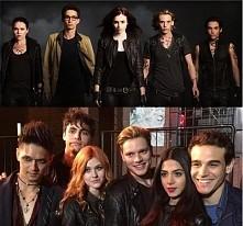 Aktorzy z filmu czy serialu?  Mnie bardziej odpowiadają filmowi, ale zamieniłabym Aleca i Izzy na tych z serialu :) a wy?