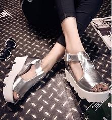 Sandały na koturnie, połączenie sportu i elegancji :) kliknij w zdjęcie i przejdź do sklepu!