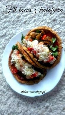 tacos z kalafiora