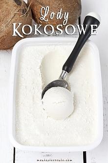 Składniki na około 1000 ml lodów:  2 puszki pełnotłustego mleka kokosowego* 4...