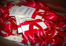 Zawieszki z kolekcji VERONA: krem i czerwień (wyjątkowo z czerwoną cyrkonią)  Masz pytania? Pisz! :) kraina_czarow@interia.pl