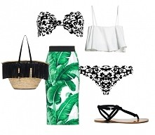 stylizacje bikini, w których możesz iść na miasto fashavable.blogspot. com/2016/06/bikini-plus-stylizacje-na-plaze-w.html