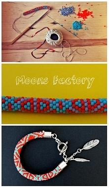 moonsfactory.wordpress.com  Piękna bransoletka wykonana własnoręcznie z koralików toho. Prezentuję fazę wykonania, szczegół splotu oraz efekt końcowy. Mam nadzieję, że Wam równi...