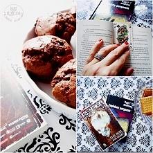 Książki upolowane + babeczki