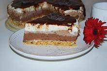 sernik czekoladowy bez piec...