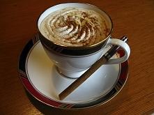Aromatyczna kawa cynamonowa...