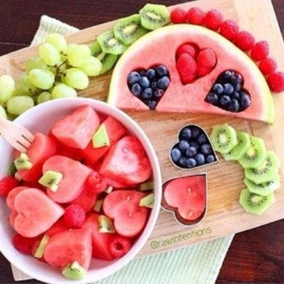 Dekoracje Arbuz Owoce Dekorowanie Potraw Na Zszywkapl