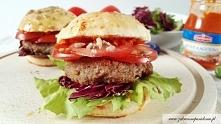 Domowe burgery z indyka