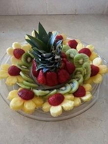 dekoracje, owoce