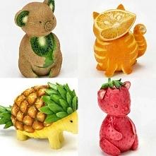 dekoracje, owoce, dekorowanie potraw