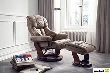 Skórzany fotel telewizyjny ...