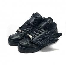 Czarne buty Adidas Jeremy Scott Wings. Zapraszamy na jeremy-scott.pl