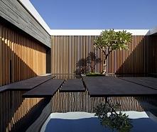 Patio w domu, nowoczesny design wejścia do domu - niezwykłe inspiracje i nowo...