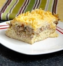 Zdrowsza wersja fast food-ów, zapiekanka z makaronem i mięsem mielonym.  Przepis po kliknięciu w fotkę :)