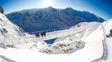 Titlis Cliff Walk, Szwajcaria  Najwyższy most w Europie
